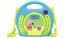 NEW Lexibook Peppa Pig Karaoke CD Player with Microphones (A)