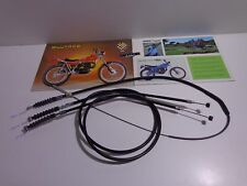 Bultaco sherpa model 198,199,199A, 199B brake and clutch cables 3 cables