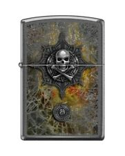 Zippo 28378 Anne Stokes Collection Skull & Crossbones Lighter RARE