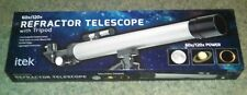 iTek 60x/120x Refractor Telescope with Tripod