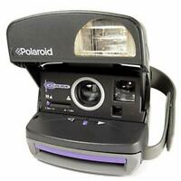 Polaroid P 600 PURPLE ACCENTED  Instant  Camera  MANUAL +Film buyer guide ..