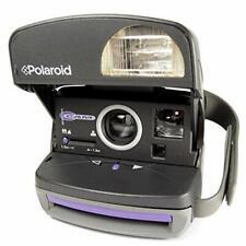 Polaroid P 600 púrpura acentuados Manual de cámara instantánea + Película guía del comprador..