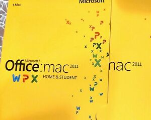 Microsoft Office 2011 Home and Student (Retail) - Full Version for Mac