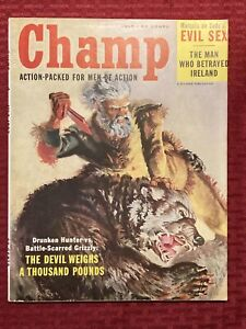 Champ Magazine Action-Packed For Men Of Action July 1957