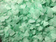 Verde menta Biodegradable Confeti forma de corazón Eco Friendly Vintage & Hecho A Mano