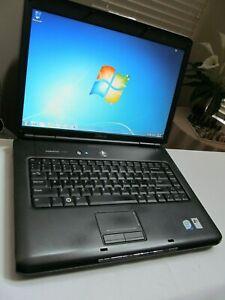 """Dell Vostro 1500 15.4"""" Intel Core 2 Duo 1.60Ghz/2GB/160GB/Wifi/DVDRW/Win7🔥w/Iss"""