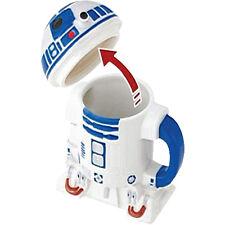 STAR WARS ~ R2-D2 Ceramic Mug with Lid (Zeon Ltd.) #NEW