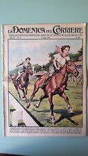 La Domenica del Corriere 7 luglio 1957 Elisabetta II - O.Losito - Midway
