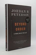 Dr Jordan B. Peterson - Beyond Order (2021) - SIGNED First Edition 1/1 Hardback