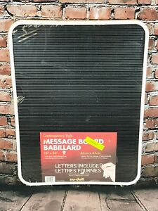 """Large Menu Board With Letters 18"""" x 24"""" Slotted Message Board"""