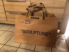 Ikea x Virgil Abloh Markerad Tasche Groß Big 79 Liter Off-White Bag Sculpture