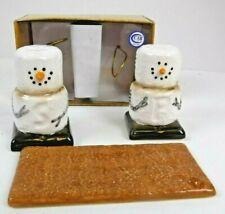 Seasons Cannon Falls Midwest Original Smores Salt Pepper Shakers Set Christmas