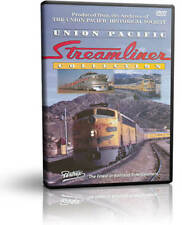 Union Pacific Streamliner Collection  - Pentrex Steam Diesel DVD Video