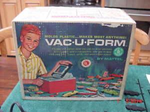 Vintage Mattel  1962 Vac U Form Thingmaker Playset  in Orig Box