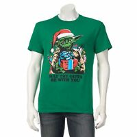 Star Wars CHRISTMAS Tee YODA The Gift T SHIRT Ugly Sweater THE FORCE AWAKENS