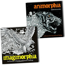 Animorphia and Imagimorphia An Extreme Colouring and Search Challenge 2 Books