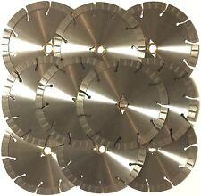 "10PK-10"" 15MM SEG CUT GRANITE STONE CONCRETE BRICK BLOCK DIAMOND SAW BLADE-BEST"