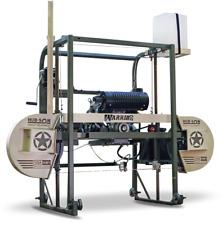 Hud-Son Warrior Portable Sawmill Bandmill Diy Cabin Kit