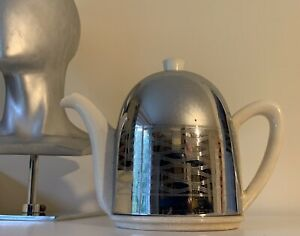 No 2 Art Deco Ever Hot Ceramic Thermal Insulated Teapot Coffee Pot