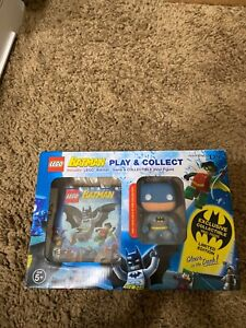 Nintendo DS Batman LEGO play & collect game & vinyl Batman figure limited editio