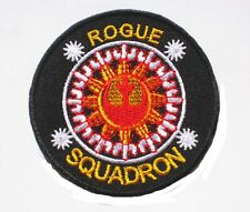 """STAR WARS Rebel Alliance Rogue Squadron embroidered Badge Patch 7.5x7.5 cm 3"""" D"""