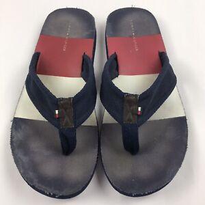 Tommy Hilfiger Color Block Flip Flops Men's 12 / 13