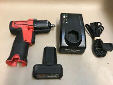 "Snap-on 14.4 V 3/8"" Drive MicroLithium Cordless Impact Wrench Kit CT761AO CT761"