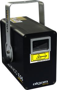 LASER D'ANIMATION 400MW RGB  ALGAM LIGHTING SPECTRUM400RGB