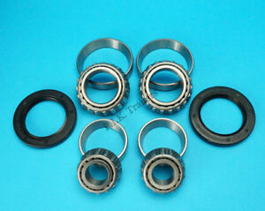 2 x Trailer Wheel Hub Bearing 67048 & 11949 & Seal 42 62 7 - ALKO 2051  #KIT-109