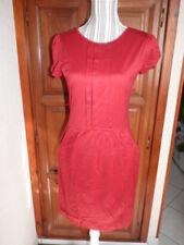 MANGO Robe rouge taille L 40 Casual Sportswear