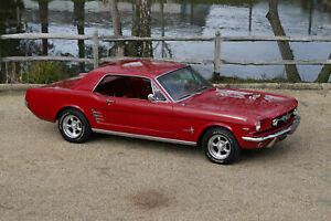 Ford Mustang 66 Coupe with loads of extras. Watch our full HD video SOLD