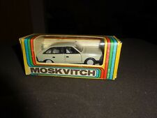 Novoexport vintage mint/box Moskvitch grau pristine 1/43 Top