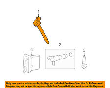 TOYOTA OEM-Ignition Coil 90919A2005
