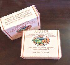 2 Pieces - Herbal Wonders Papaya Natural Skin Whitening Organic Soap 1.3 oz. ea.