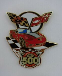 2005 Indianapolis 500 Chevrolet Corvette C6 Pace Car Collector Lapel / Hat Pin