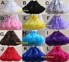 TUTU Skirt Lolita Petticoat Cosplay Pettiskirt Crinolines Fluffy Dance Costume