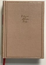 Edgar Allan Poe The Works of Poe Hardcover Volume One Tales and Poems
