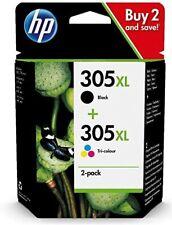 Cartuccia HP 305 XL nero e colore originale