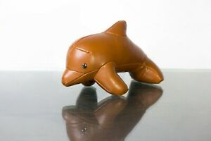 Züny Design Baby Dolphin - Cute Addition To Your Desk. Brown