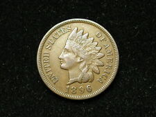 SUMMER SALE!!  XF+ 1896 INDIAN HEAD CENT PENNY w/ DIAMONDS & FULL LIBERTY #44s