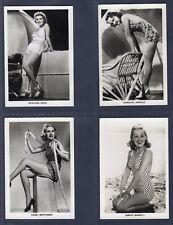 Carreras GLAMOUR GIRLS of STAGE & FILMS (XF36) - 1939 SET
