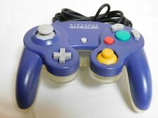 Nintendo GameCube Official Controller Violet + Clear Wii Pad Game JAPAN F/S