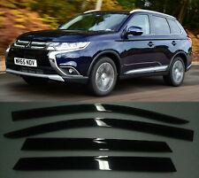 Mitsubishi Outlander 3 2012-2019  Deflector Smooke tint Window visor Shade Vent