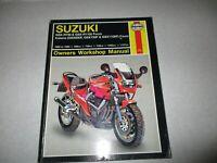 Haynes Manual 2055 GSXR750 1100 Fours 1985-1993