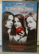 Teaching Mrs. Tingle (DVD, 2011)  RARE HORROR COMEDY BRAND NEW