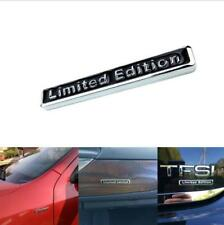 3D Limited Edition Car Emblem Metal Badge Sticker Black Chrome
