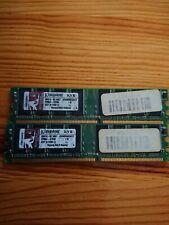 Kingston PC-3200 512MB DIMM 400 MHz DDR SDRAM Memory (KVR400X64C3A/512)