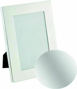 """11""""x 9"""" Photo Frame Silver Picture Modern Poster Standing & Wall Mount a4"""