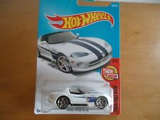Hot Wheels 2017 Dodge Viper Rt/10/Then And Now #9/10 Card#340/365
