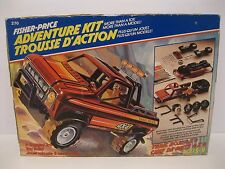 Brand New Sealed 1983 Fisher-Price Adventure People Kit Trail Boss 4X4 370